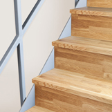 Solid Oak Stair Cladding Kit - 14 Steps