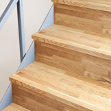 Solid Oak Stair Cladding Kit - 15 Steps