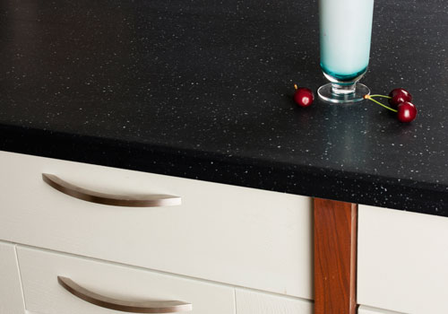 Black Star Earthstone worktops are available in a range of different sizes.