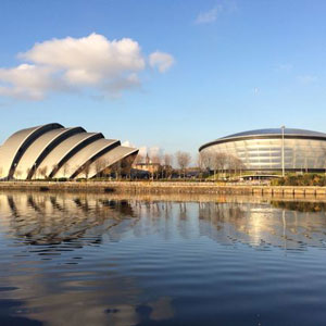 The Clyde Auditorium and the SSE Hydro are instantly recognisable Glaswegian landmarks.