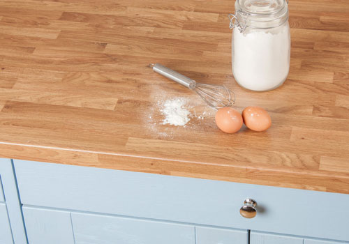 Our Colmar Oak worktops are incredibly popular.