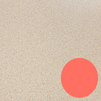 Allow Living Coral to shine by pairing it with a contemporary neutral worktop.
