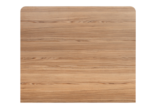 This Cypress Cinnamon laminate worktop has a radius corners.