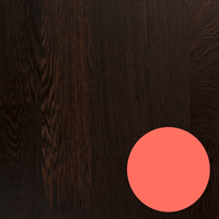 The luxuriously dark shades of wenge make it the perfect worktop partner for Living coral.
