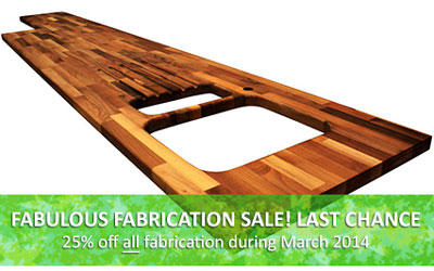 Fabricate Your Solid Worksurfaces for Discounted Prices!