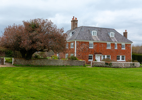 With the help of many volunteers, Jamie's Farm transformed this farmhouse in the heart of South Downs National Park.