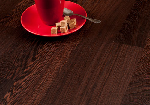 Wenge is our hardest wood. It has a deep colour and is suitable for contemporary kitchens.