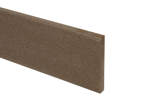 This Mocha Earthstone upstand can be used to finish off the gap between the worktop and the wall.