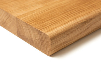 Pencil edge profiles (like the 0.6mm pencil edge pictured here) are ideal for those who prefer a slightly softer finish
