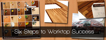 Six Steps to Worktop Success: Choosing Your Wooden Worktops