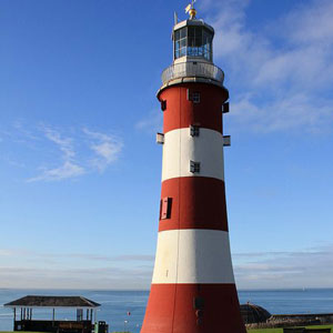 Smeaton's Tower is the third and most notable Eddystone Lighthouse in the world.
