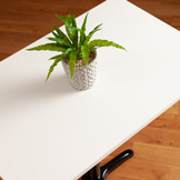 White Rectangle Table Top - 600mm x 900mm x 22mm