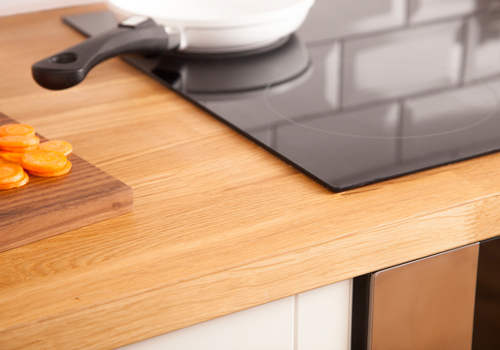 Oak veneer has all of the same beautiful character as solid oak but at a more affordable price.