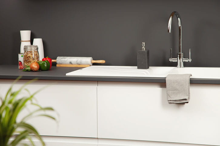 Anthracite Grey Kitchen Worktop