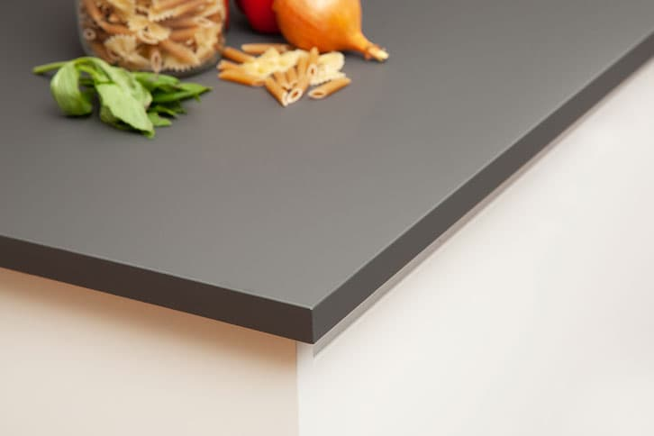 Anthracite Grey Worktop Corner