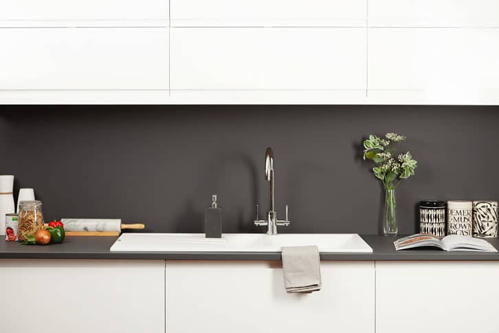 Anthracite Grey Worktop in Kitchen