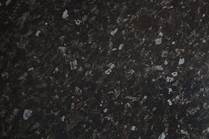 Black Granite Effect Laminate Worktop Swatch