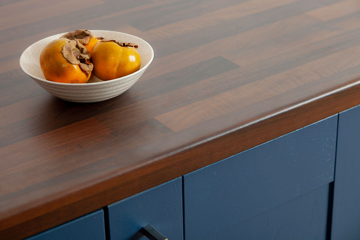 Go to our black walnut block laminate worktop gallery page