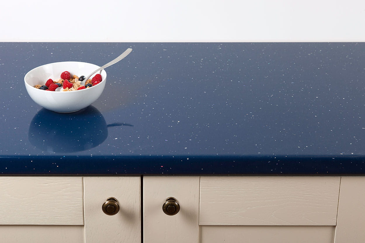 Go to our Blue Andromeda Laminate Worktop gallery page