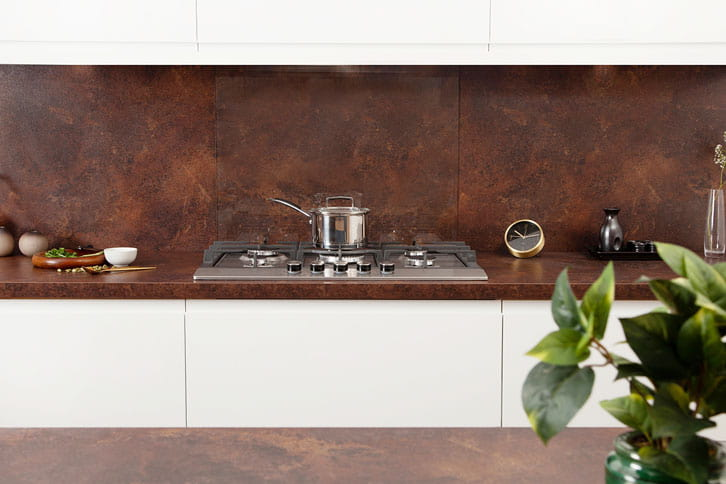 Copper Effect Kitchen Worktop