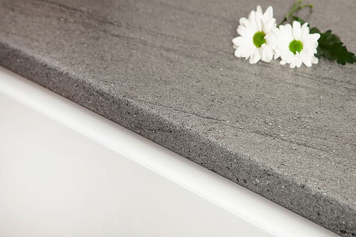 Ipanema Grey Laminate Worktop Edge