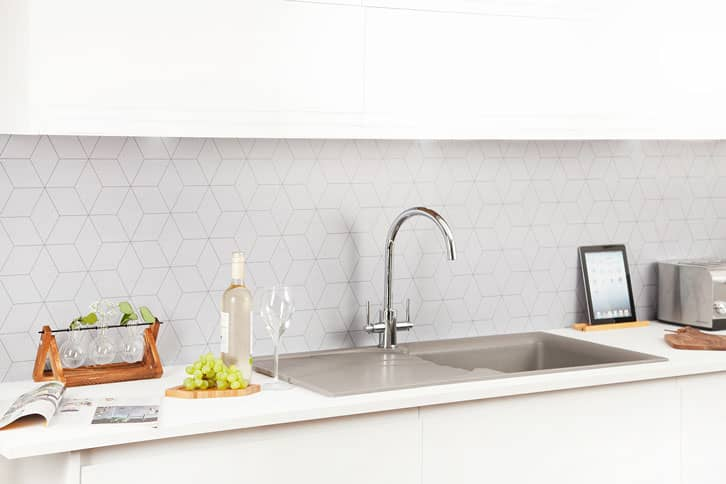 Pure White Super Matt Kitchen Worktop