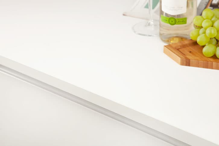 Pure White Super Matt Worktop Edge