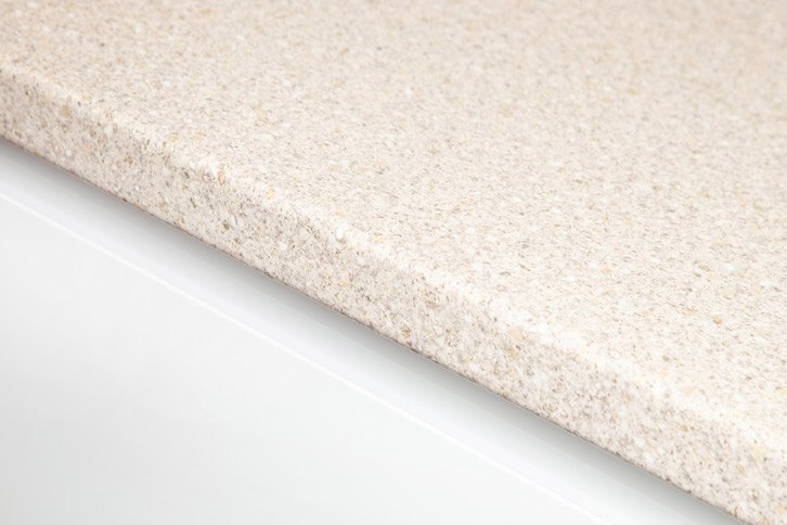 Taurus Beige Laminate Kitchen Worktop Edge