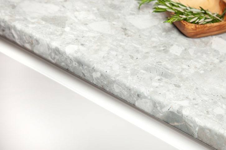 Trebbia Stone Laminate Worktop Edge
