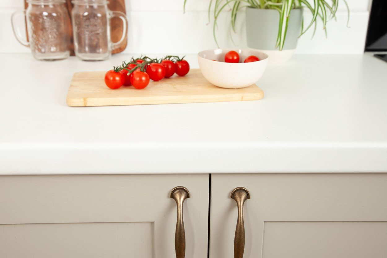 Go to our White laminate worktop gallery page