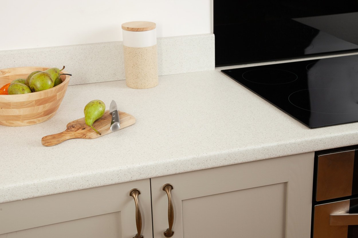 Go to our White Quartz laminate worktop gallery page
