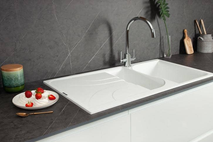 Cloudy Nova effect Worktop with Sink