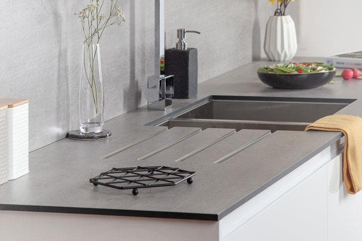 Concrete Solid Laminate Kitchen Worktop