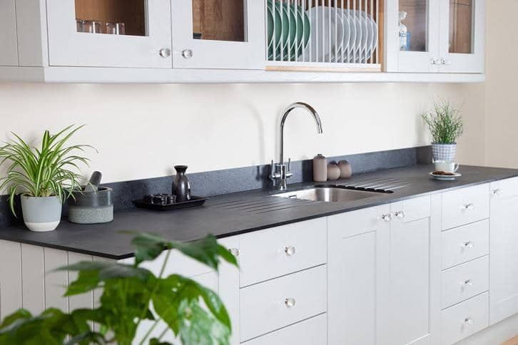 Zenith Magma Worktop In Kitchen