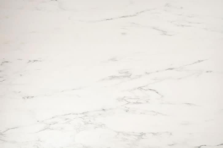 White Marble Solid Laminate Worktop Swatch