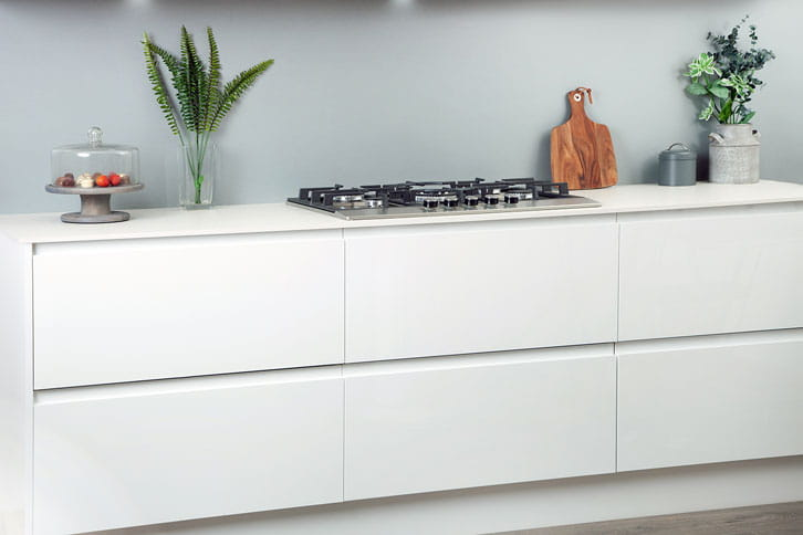 White Terrazzo effect Kitchen Worktop