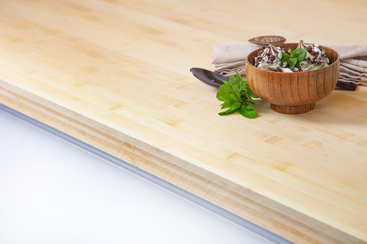 Bamboo Worktop Edge