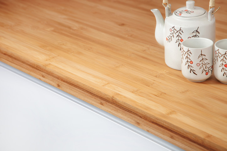 Caramel Bamboo Kitchen Worktop Edge