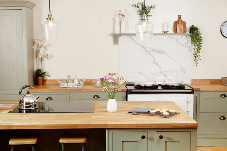 Deluxe Oak Kitchen Worktop