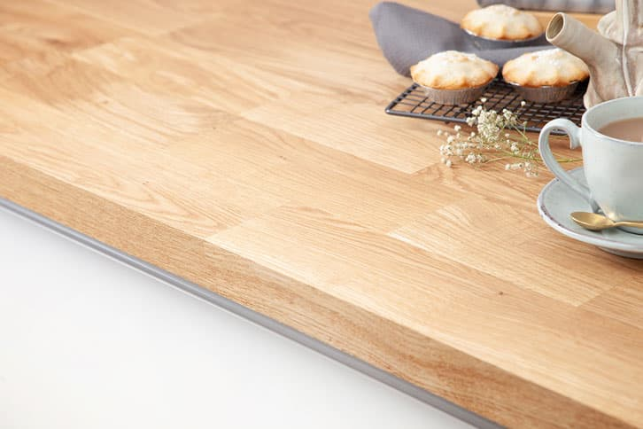 Deluxe Oak Worktop Edge