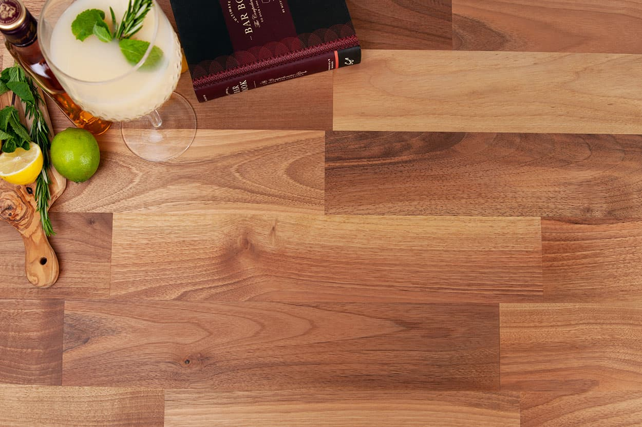Go to our deluxe Walnut worktop gallery page