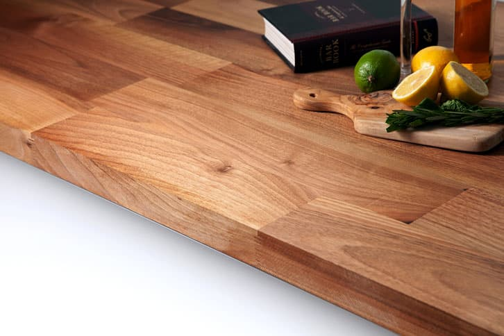 Deluxe Walnut Worktop Edge