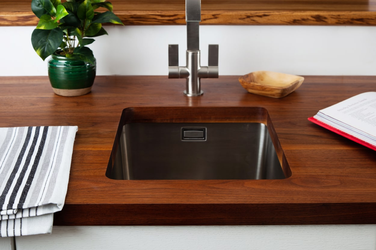 Go to our Full Stave American Walnut Worktop gallery page