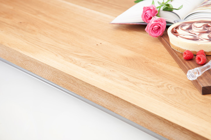 Full Stave Oak Worktop Edge