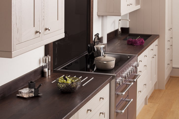 Full Stave Wenge Kitchen Worktop Surface