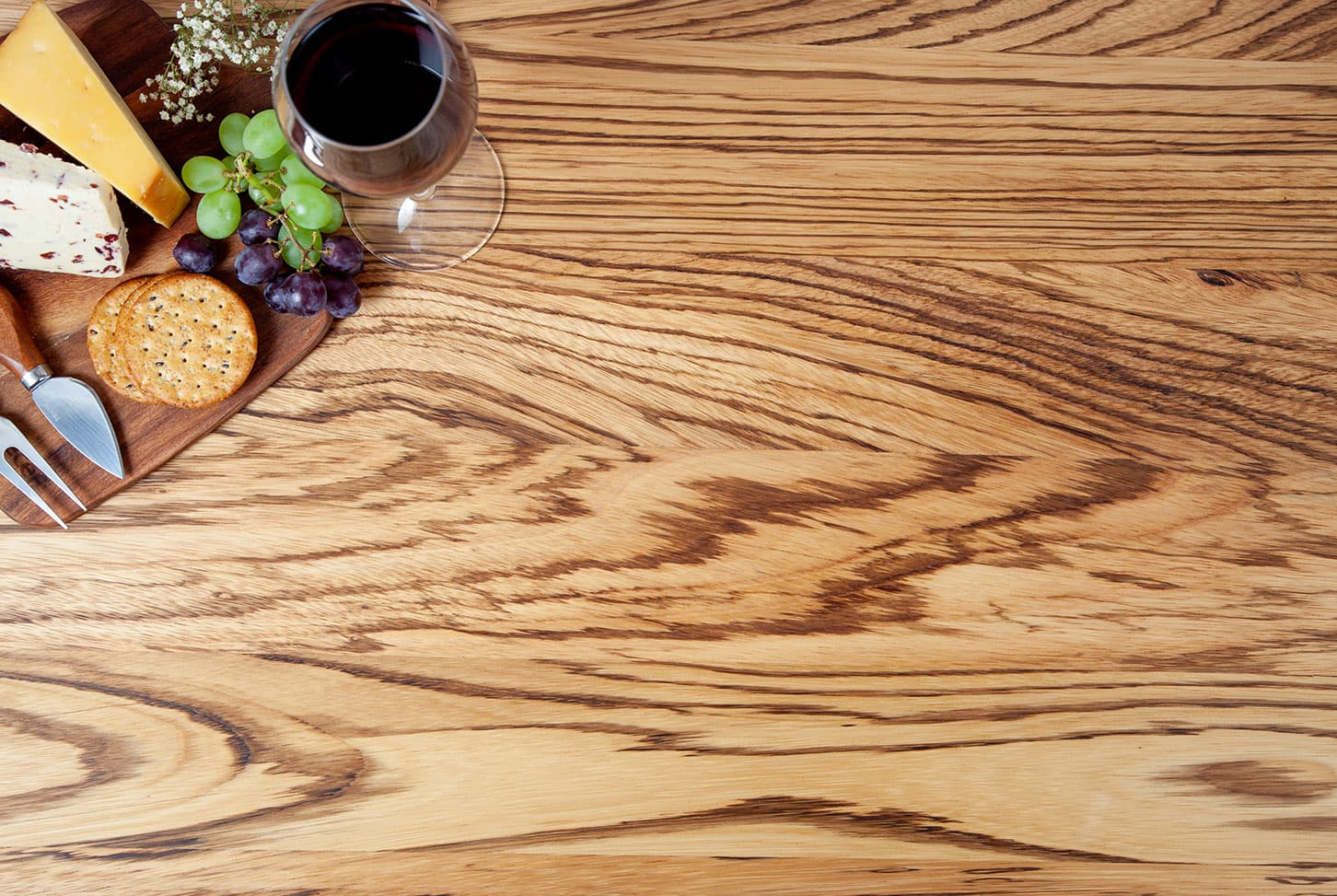 Go to our Zebrano Prime Oak Worktop gallery page