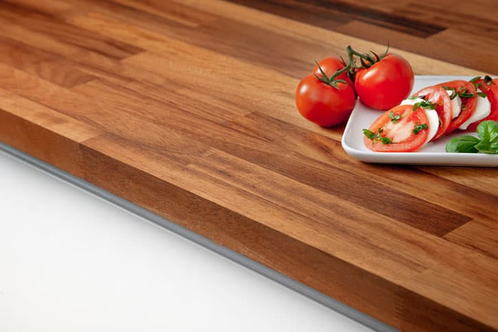 Iroko Worktop Edge