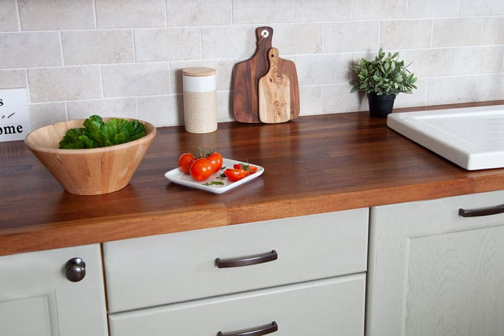 Iroko Worktop Surface