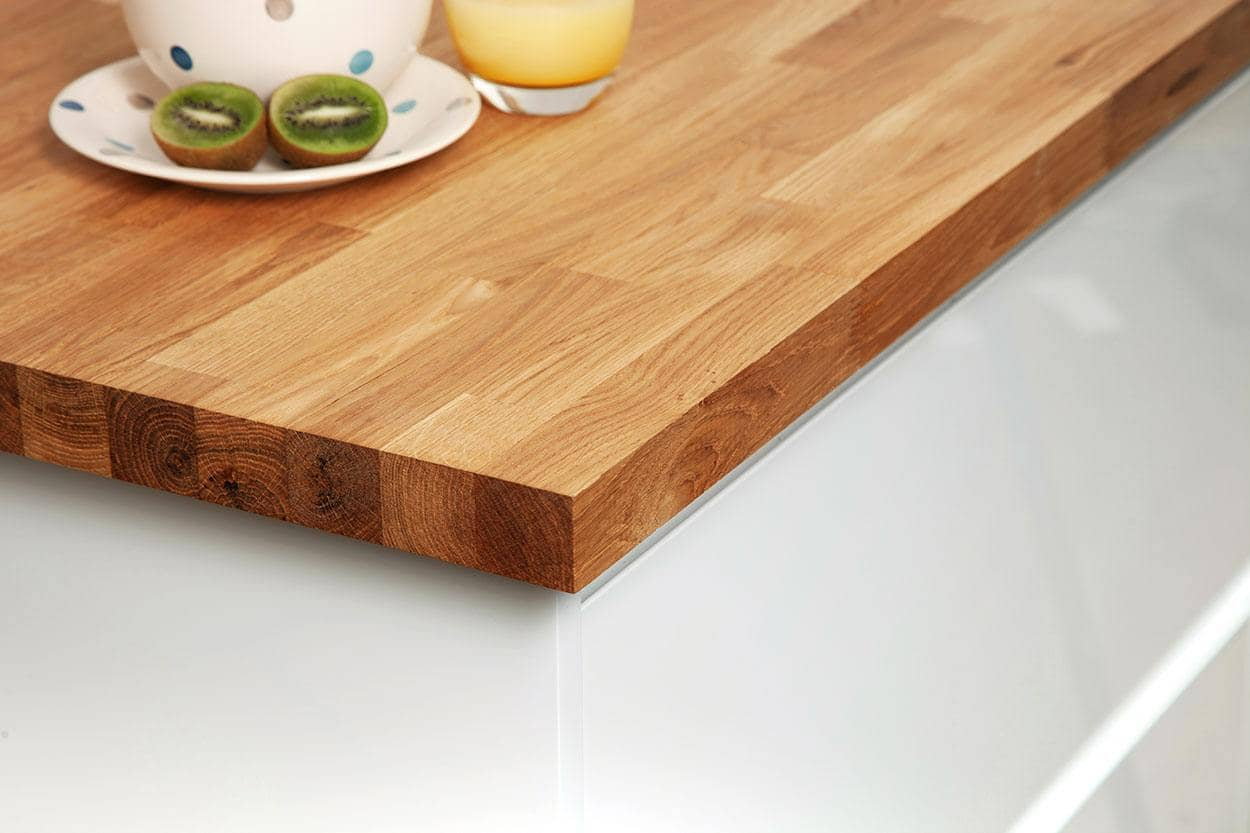 Brilliant Solid Oak Worktops Cheap Oak Kitchen Work Top Worktop Express Bralicious Painted Fabric Chair Ideas Braliciousco