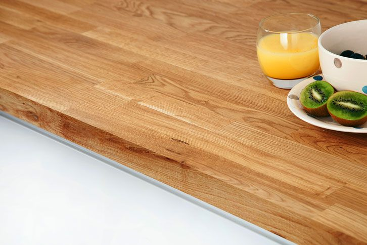 Oak Worktop Edge